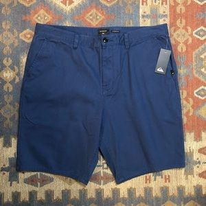 Quicksilver Straight fit Blue Shorts Size 38